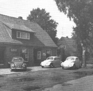 Lebensmittelgeschäft Manke Wintermoor in den 60er Jahren - aus 200 J Colonie Wintermoor