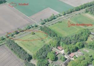 Luftbild Unfallstelle Heidebahn im Mai 2017