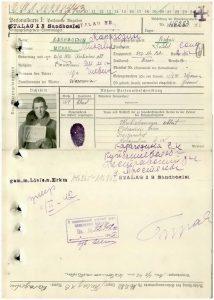 Gefangenenakte Michail Karagodin im Lager Sandbostel - OBD-Memorial - 300795786