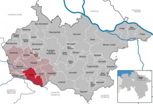Otter im Landkreis Harburg, Grafik gemeinfrei von Wikipedia TUBS