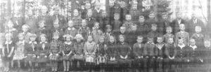 Schule Wintermoor in den Dreissiger Jahren - aus Chronik 200 Jahre Wintermoor-Geversdorf