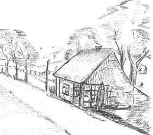 Detail vom Titelbild 200 Jahre Colonie Wintermoor