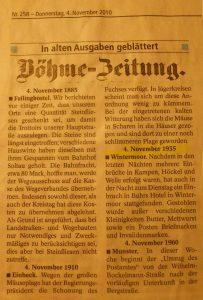 Böhme-Zeitung vom 4.11.1935 - Postraub in Wintermoor