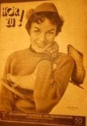 HörZu 1/1955: Titelseite