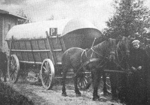 Pulverwagen auf dem Weg nach Hamburg - aus 200 J Colonie Wintermoor