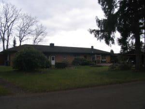 Kamperheide, ehem. Mannschaftsgebäude 2017
