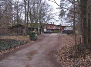 Wägerhof, Zufahrt zum Reiterhof 2017