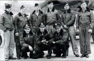 B24-Crew unter Pilot Stalland