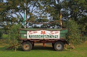 Kreisschützenfest 2014 Werbeanhänger, Foto: Peter Haar