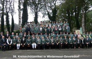 Kreisschützenfest 2014 in Wintermoor-Geversdorf, Foto: Kreisschützenverband Soltau