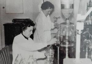 Frau Michael arbeitete als Apothekerin im Krankenhaus Wintermoor