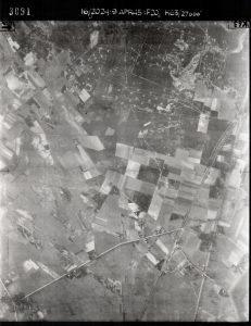 Luftbild von Wintermoor und Kamperheide am 9. April 1945, Bild 3091: NCAP / ncap.org.uk