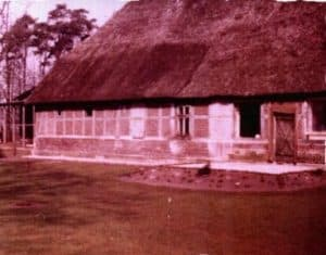 Ramakershof beim Umbau 1974, links ist noch die Stallnutzung erkennbar
