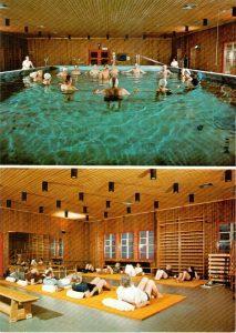 Bewegungsbad und Gynastikraum der ENDO-Klinik in Wintermoor, Ansichtskarte 5584 von Alstercolor