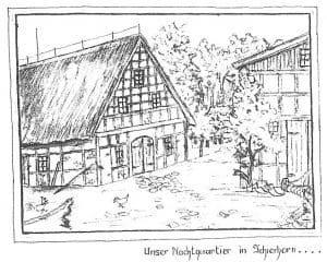 Hof in Schierhorn 1946