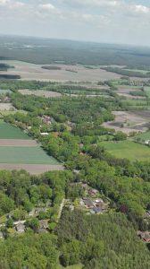 Luftbild Wintermoor-Geversdorf im Mai 2017