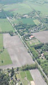 Luftbild Wintermoor a.d.Ch., Zur Forst und B 3 im Mai 2017
