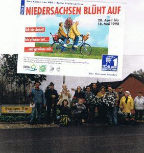 Niedersachsen blüht auf in Wintermoor mit NDR1 1998