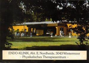 Ansichtskarte ENDO-Klinik Abt II Physikal. Therapie in Wintermoor von Kantine Manke