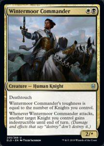 Spielkarte Wintermoor Commander