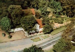 Ansichtskarte Luftaufnahme Hof Barrl in den 60er Jahren