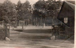 Ausweichkrankenhaus Wintermoor Haupteingang 1944