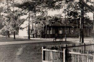 Ausweichkrankenhaus Wintermoor Station unbekannt zw 1944-47