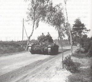 Englische Panzer 1950 zwischen Heber und Behringen - Foto W Köster