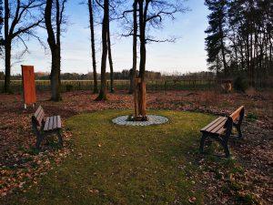 Baumbestattung auf dem Friedhof Wintermoor 2019