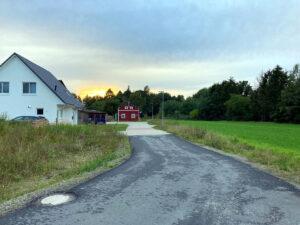 M-Daasch-Weg in Wintermoor Westring Blick nach Norden 2020