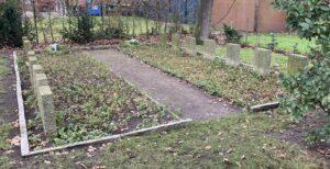 Ausländerabteilung auf dem Friedhof Schneverdingen im Dez 2020