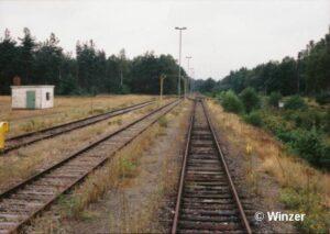 Bahnhof Barrl im August 1997, Foto Winzer, Quelle heidekreuz.de
