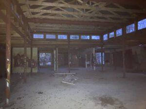 Cafeteria vom Pflegezentrum Wintermoor im Dez 2020