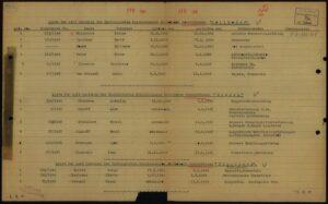 Liste der seit Bestehen des Hamburgischen Krankenhauses verstorbenen Russen 1949, Dokument ohne zugeordnete Signatur 02010201 oS/ID 70641009/ITS Digital Archive, Arolsen Archives