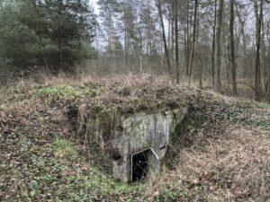 Keller bei der Abwasseranlage des Krankenhauses Wintermoor im Dez 2020