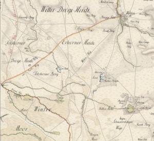 Kurhannoversche Landesaufnahme des 18. Jahrhunderts Blatt HL71