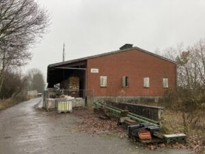 Lagerhaus Wintermoor im Dez 2020