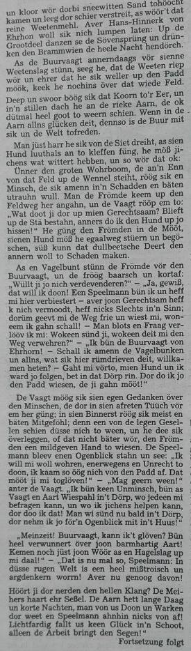 2 Der Niedersachse 2-1991 - De Beetenbuur un de Ehrhorn-Sage Teil 1-2