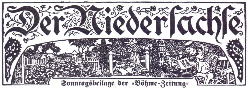 Der Niedersachse - Sonntagsbeilage der Böhme-Zeitung - Header