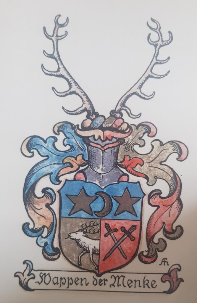 Wappen der Familie Menke